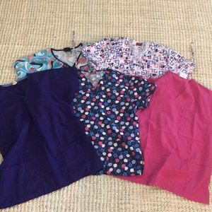 Other - Lot of small scrub tops